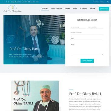 Prof. Dr. Oktay Banlı Web Sitesi